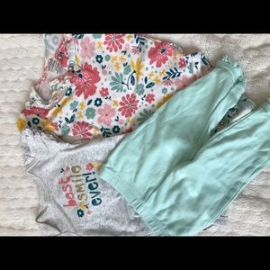 Other - Baby girl mis and match outfit